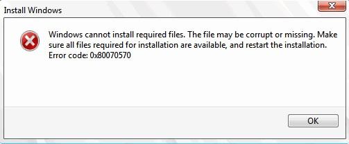 Error 0X80300024 While Installing Windows Fixed