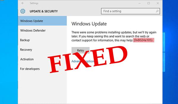 How to Fix Windows Update Error Code