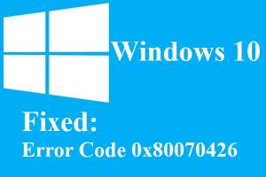 window fixed error