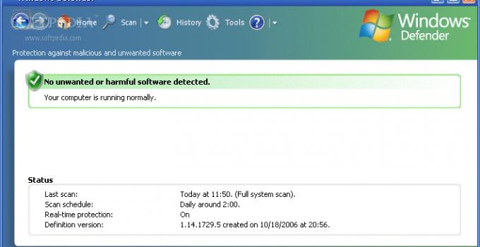 Windows Defender for XP