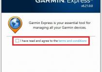 install Garmin Express on Windows 7, 10 Desktop