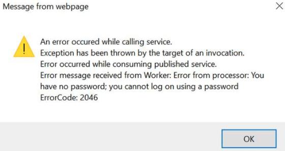 2046 error