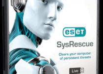 Computer With ESET SysRescue Live