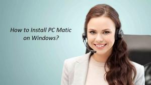Reinstall PC Matic