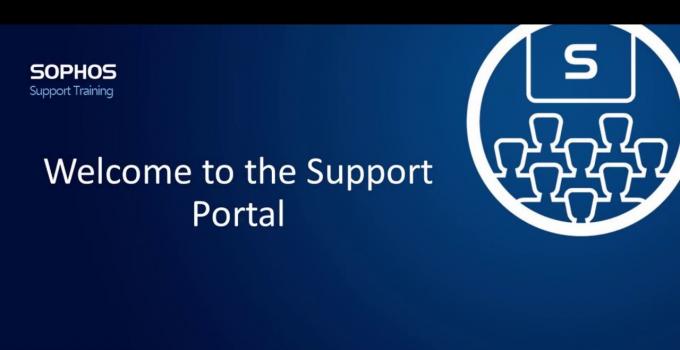 Sophos Support