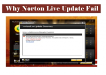 Unable to Install Updates Using Norton Live Update