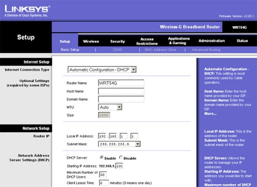 Linksys-Router-Login