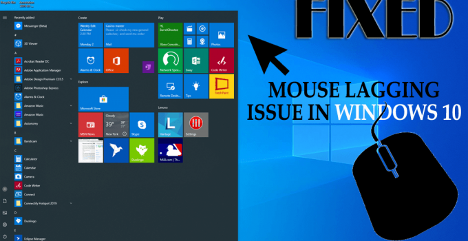 Get the methods to fix Mouse Lag/Freez Windows10