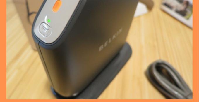 fix Belkin Router Orange Light Error