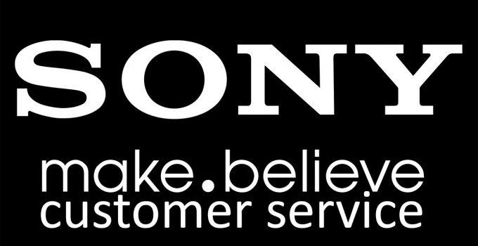 sony customer support
