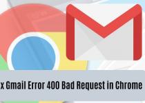 Bad Request Error in Chrome