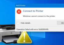 windows cannot connect to the printer