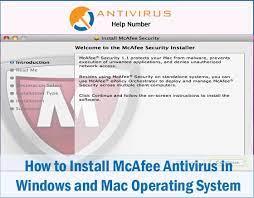 nstall Mcafee Antivirus Trial On Windows Mac