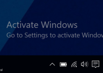 Windows Not Activated
