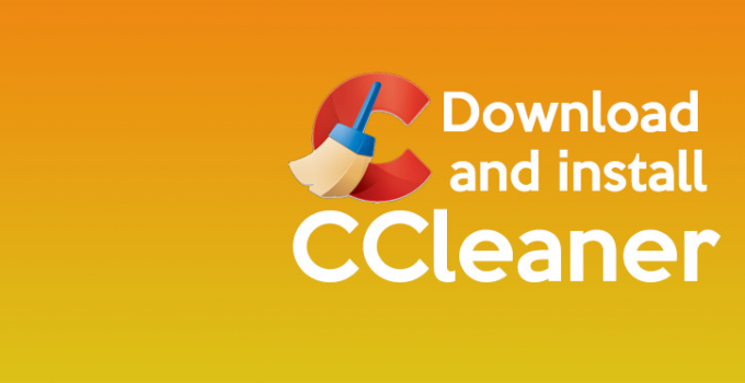 install CCLEANER