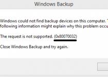 Windows Phone users face the Error Code 0X80070032