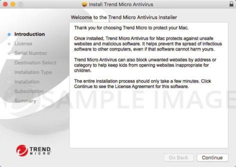Install Trend Micro on MAC