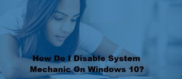 Disable System Mechanic