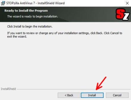 How to Install STOPzilla Antivirus