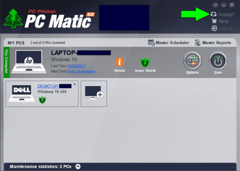 Pc matic Official support