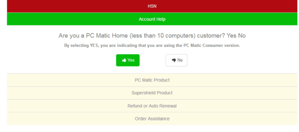 pc matic technical support