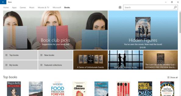 Books Windows Store