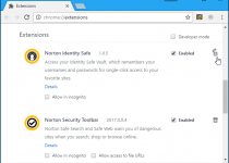 Remove Norton Browser Extension From Google Chrome
