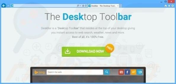 Remove DeskBar Browser Hijacker