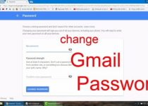 Steps For Gmail password Change