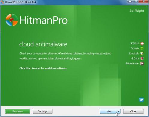 Hitman Pro Installation