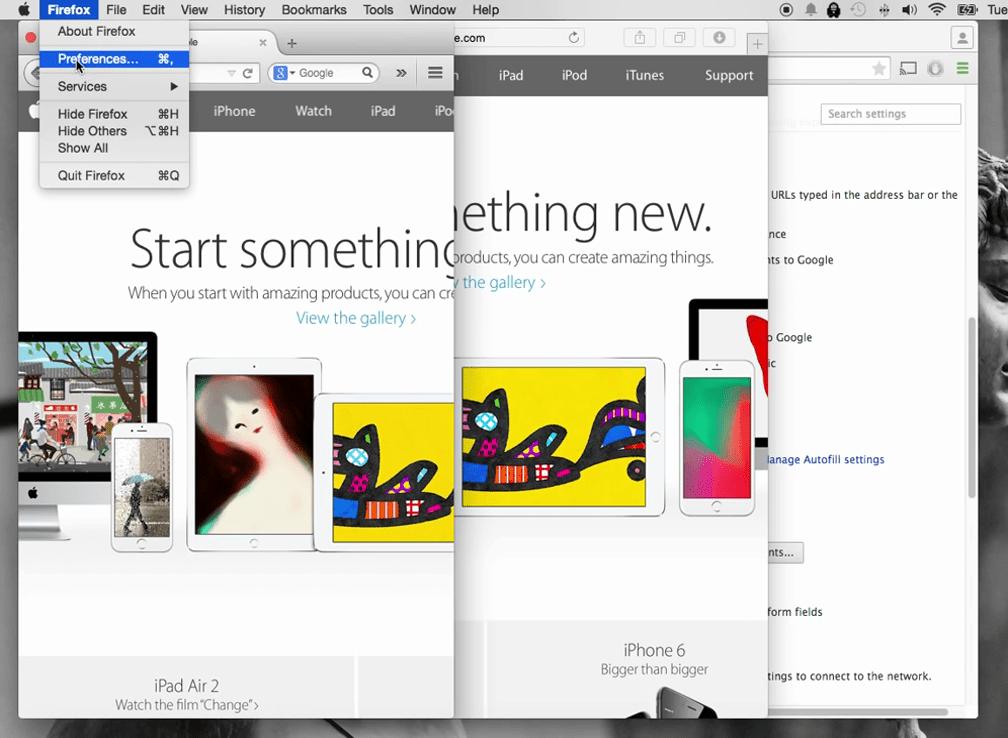 How to turn off pop up blocker on Mac 2