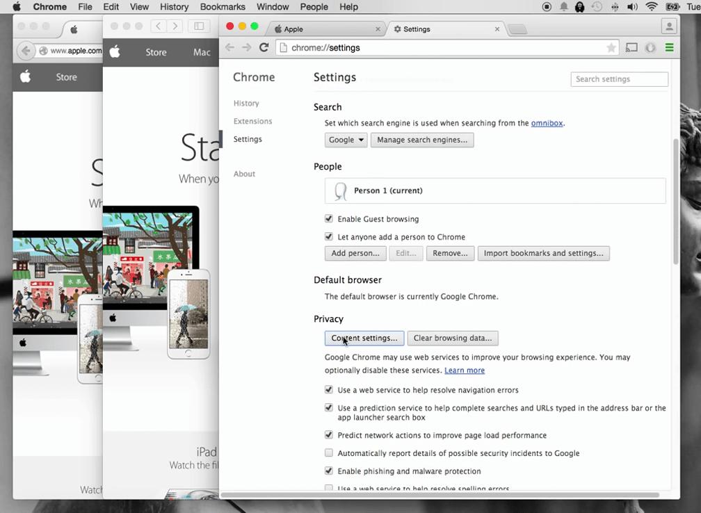 How to turn off pop up blocker on Mac 4