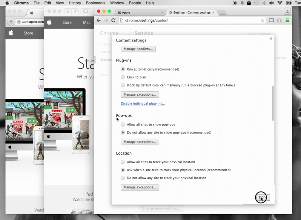 How to turn off pop up blocker on Mac 6