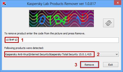 Kaspersky Removal Tool