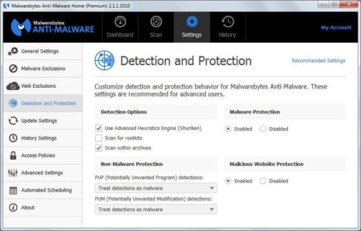 Malwarebytes Malware Removal Tool