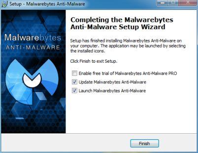 Malwarebytes Installation