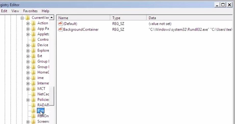 Window Registry