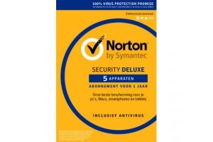 Norton Antivirus Security Deluxe