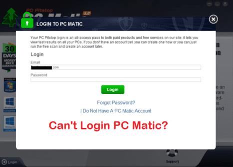 PC Matic Login