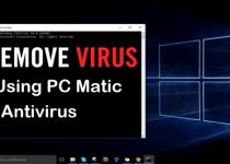 Remove Virus by Using PC Matic Antivirus