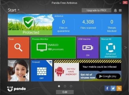 Panda malware Removal Tools