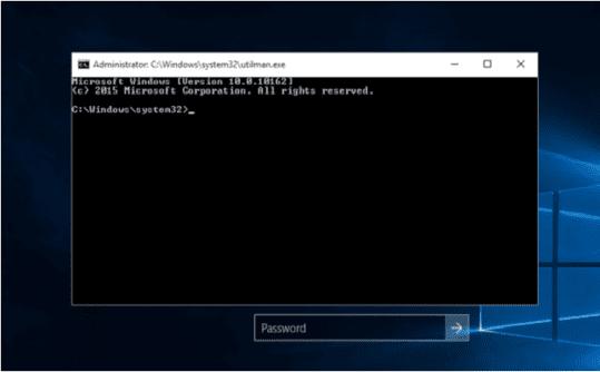 Reset Forgot Password Windows 10