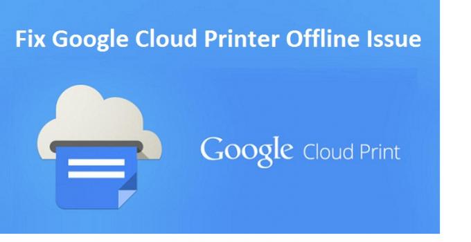 Make Your Cloud Printer Offline to Online