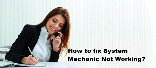 System Mechanic not working windows 10