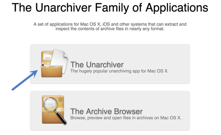 The-Unarchiver-Archiving-App-For-Mac-OS