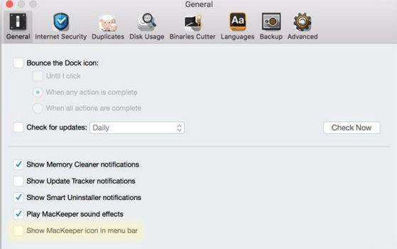 MacKeeper from MAC