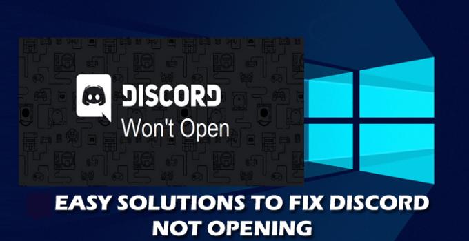 discord-Wont-open-fix