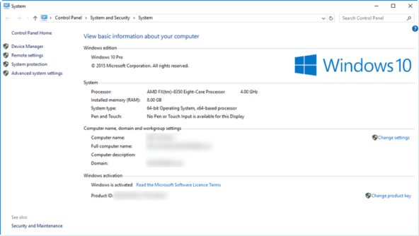 how to find windows 10 product key activation