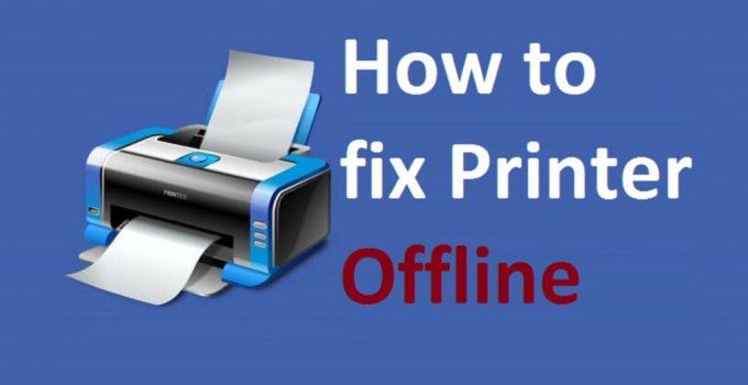 Fix HP Printer Offline Issue