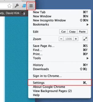 Remove Reimage Repair pop-up by Google Chrome